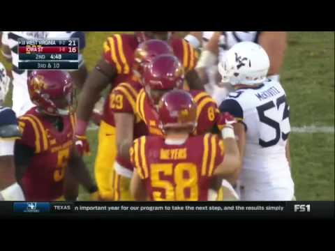 Football Highlights: Iowa State vs. West Virginia