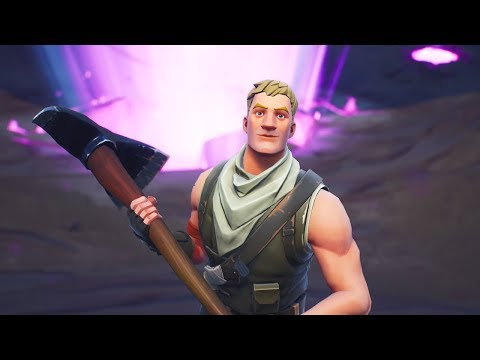 I pretended to be a real fortnite default skin...