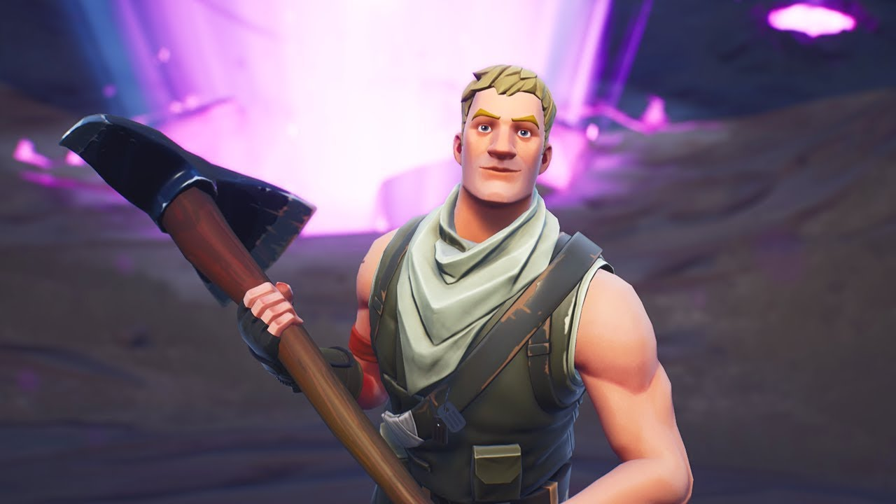 I pretended to be a real fortnite default skin youtube - Fortnite default skin wallpaper ...