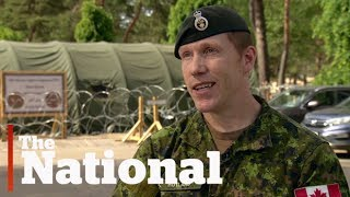 Canadian troops in Latvia to ward off Russia