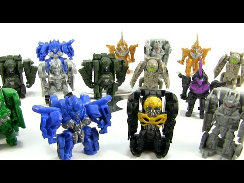 Transformers Tiny Turbo Changers - 15 Series 1 Blind Bags - The Last Knight
