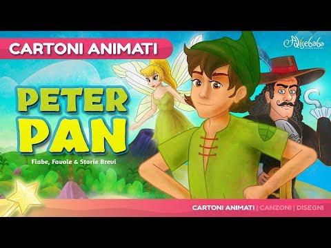 Peter Pan storie per bambini - Cartoni Animati