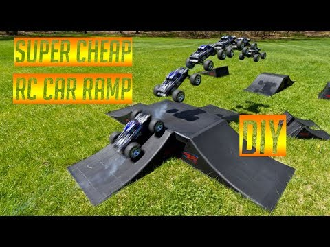 How To Make A Cheap Rc Car Ramp!!