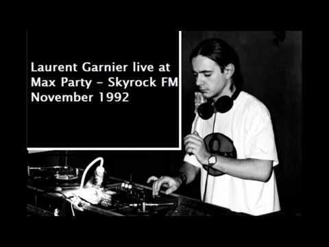 Laurent Garnier @ Max Party Skyrock Radio November 1992