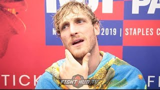 LOGAN PAUL PREDICTS 1st ROUND DECAPITATION OF KSI! CALLS OUT DILLON DANIS AND CM PUNK IN MMA!