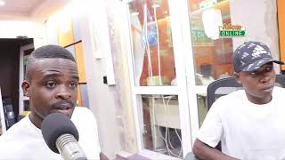 Trotro driver and mate who assaulted police officer narrate their story on Adom FMs Dwaso Nsem show