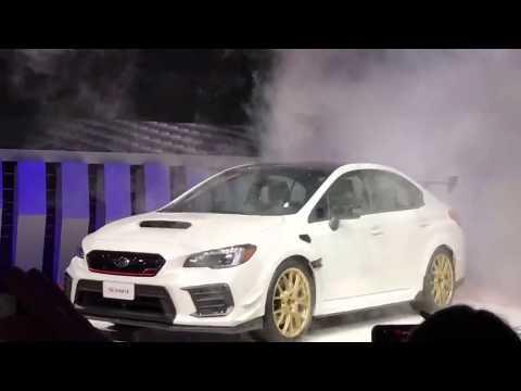 Subaru STi S209 Press Conference - North American International Auto Show