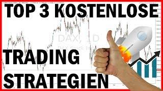 📌 Top 3 kostenlose Trading Strategien für Anfänger (Forex, CFD, Aktien)