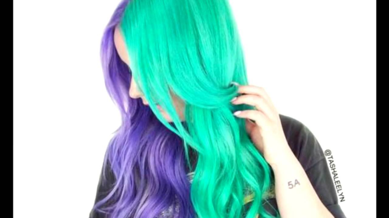10 Fresh Teal Hair Color Ideas For Blondes And Brunettes Youtube