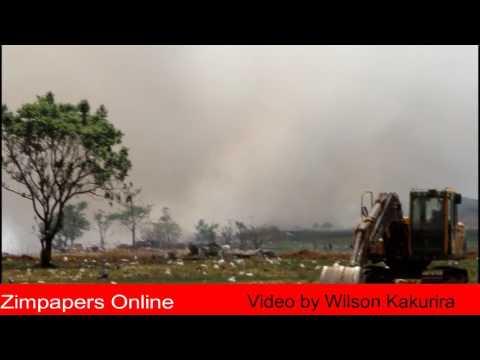 HARARE - Pomona dumpsite on fire!