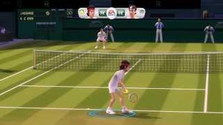 Grand Slam Tennis | Dolphin Emulator 4.0.1 [1080p HD] | Nintendo Wii