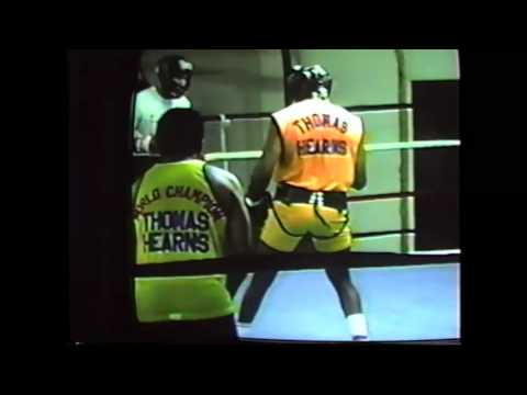 RICKY JACKSON- TOMMY HEARNS- EMMANUEL STEWART(Training)
