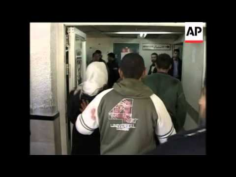 WRAP Smoke over Gaza, a'math of airstrike, hospital, KYounis airstrike, morgue