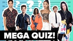 Billie Eilish vs. Ariana Grande: Welcher Star ist größer? Mach das Größen-Quiz | Digster Pop Stories