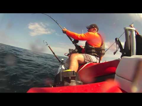 DE JetSki Fishing goes offshore  7-10-16
