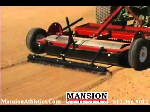 Dirt Doctor 6\u0027 Infield Groomer and Drag with 3-Point Hitch - Mansion