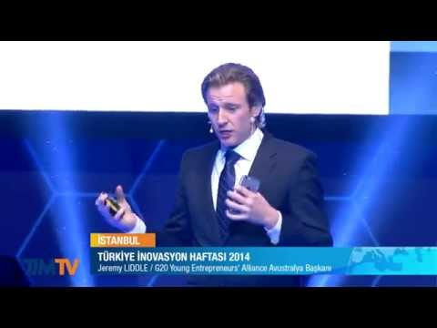 "Jeremy Liddle ""Youth Employment & Entrepreneurship"" keynote at Turkey Innovation Week December 2014"
