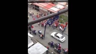 Asi esta la campaña del Potro Alvarez en Guarenas