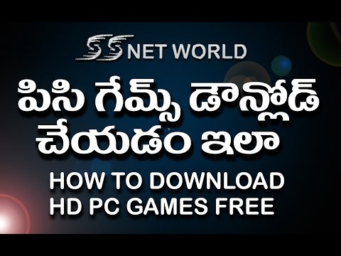 how to download HD pc games free in telugu