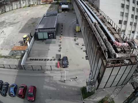 Пример дневной съемки комплектом видеонаблюдения CARCAM KIT-5M