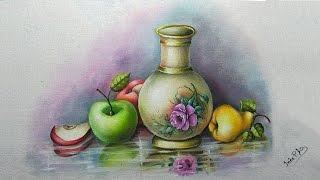 Jarro com frutas e chão espelhado – Part 1