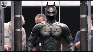 Batman Suit 'The Dark Knight' Behind The Scenes