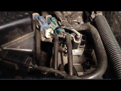 Ford Focus C-Max 1.8 benzyna - Wymiana Zaworów RG/B, Błąd P2008