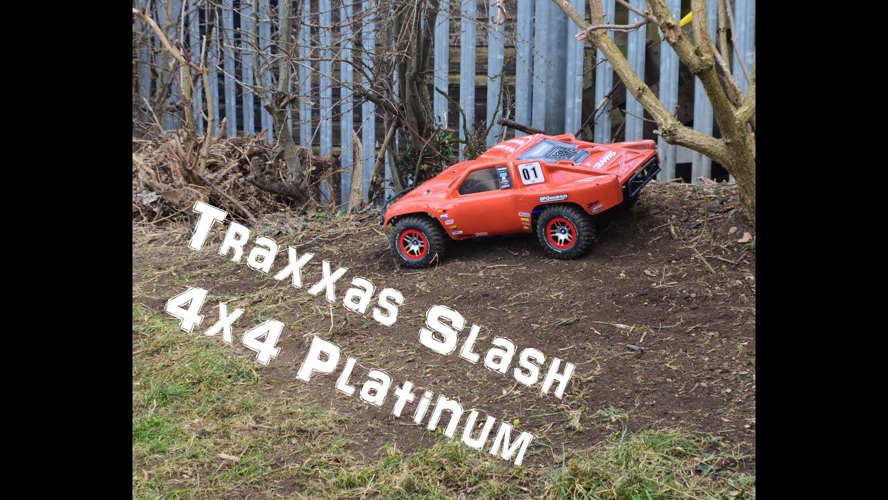 Traxxas Slash 4x4 Platinum LCG