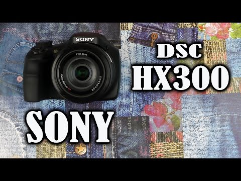 Распаковка Sony Cyber-shot DSC-HX300 Black