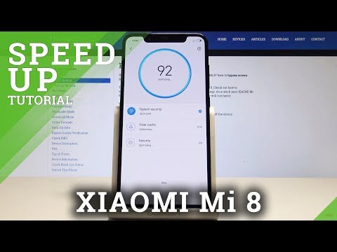 How to Speed Up XIAOMI Mi 8 - Clean Up System / Optimization