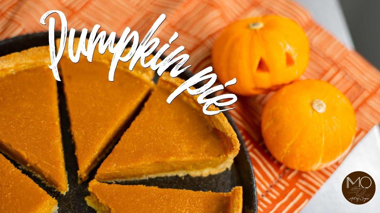 Sobremesa de Halloween - Torta de Abóbora