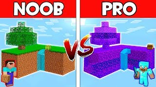 Minecraft - NOOB vs PRO : SKYBLOCK in Minecraft ! AVM SHORTS Animation