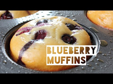 Healthy Blueberry Muffin Recipe   How To Make Low Fat Low Calorie Blueberry Muffins