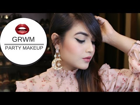 GRWM PARTY MAKEUP AND FASHION DAIRIES