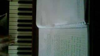 Leather (Tori Amos) on piano