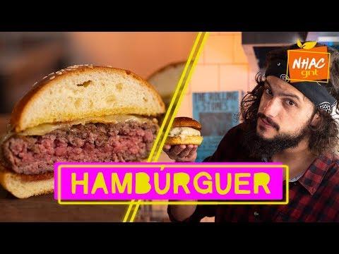 HAMBÚRGUER: Mohamad ensina como fazer carne para cheeseburger PERFEITO  Mohamad no Nhac