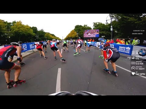 23.09.2017 - 44. BMW Berlin Marathon Inlineskating A B C 2017 | HD inline speed GoPro www.eAlex.me