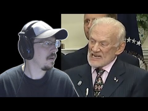 My reaction to Buzz Aldrin listening to Trump talk about space