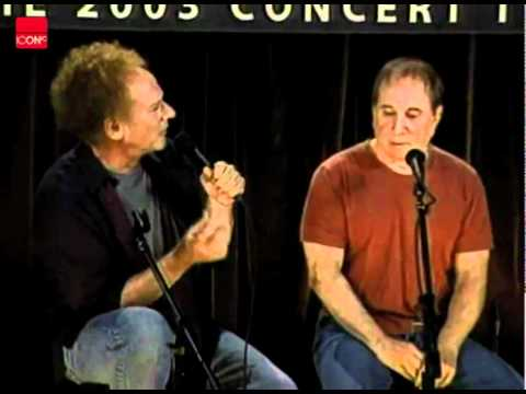 Simon and Garfunkel talking about their friendship and performance