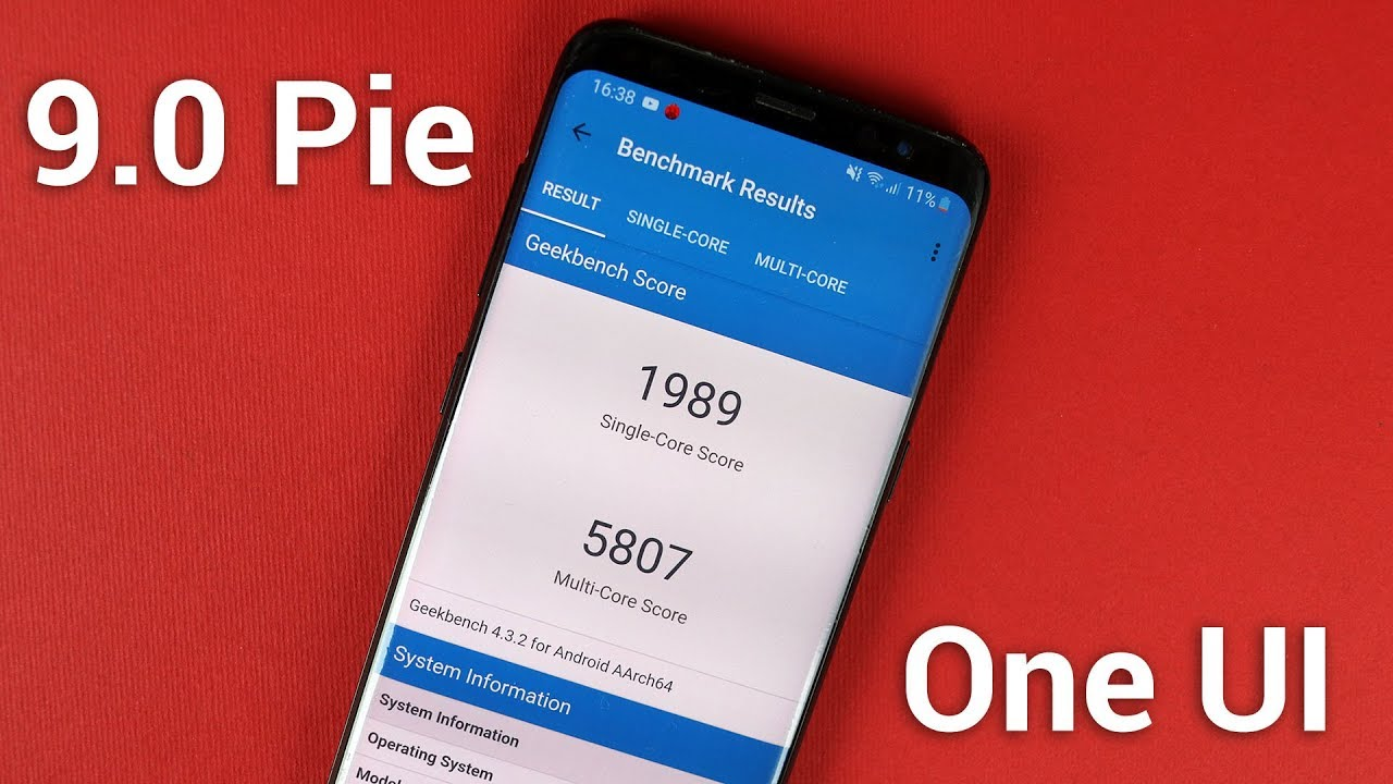 One UI Android 9 0 Pie Update Speed Test & Benchmarks [Galaxy S9, S8, Note  8]