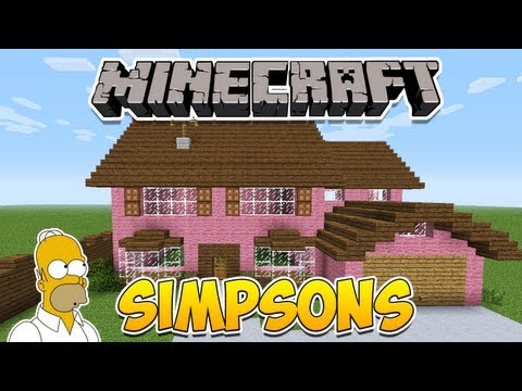 Minecraft: Como construir a casa dos Simpsons