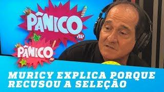 Muricy Ramalho explica porque recusou a Seleção Brasileira