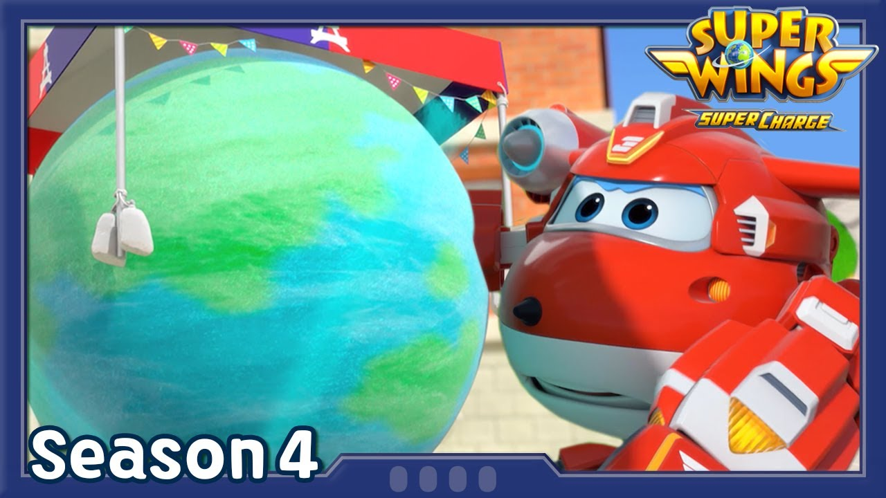 Cotton Candy Catastrophe   Superwings season4   EP40