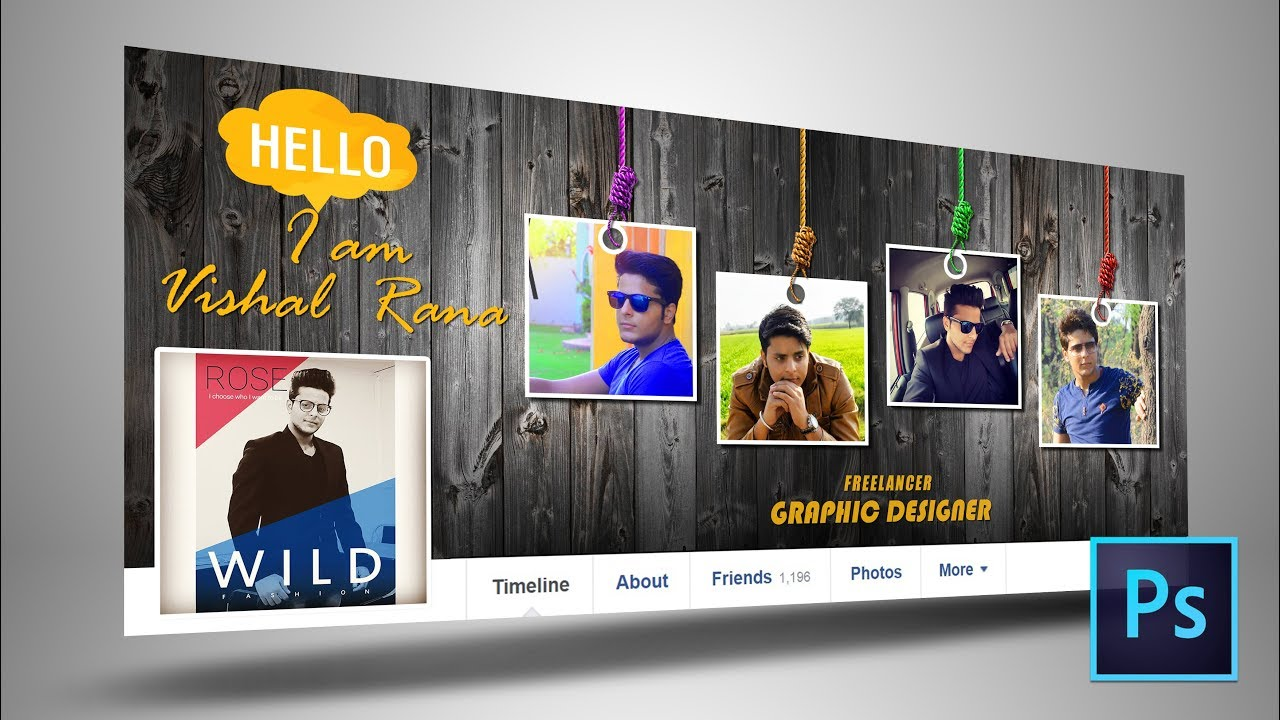 Facebook Cover Page Design In Photoshop Tutorial Vishal Rana Youtube,Makoti African Dresses Designs Pictures 2020