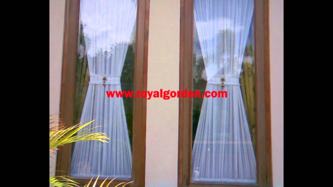 Gambar Gorden Jendela Rumah Inspiratif Villa Dan Hotel YouTube