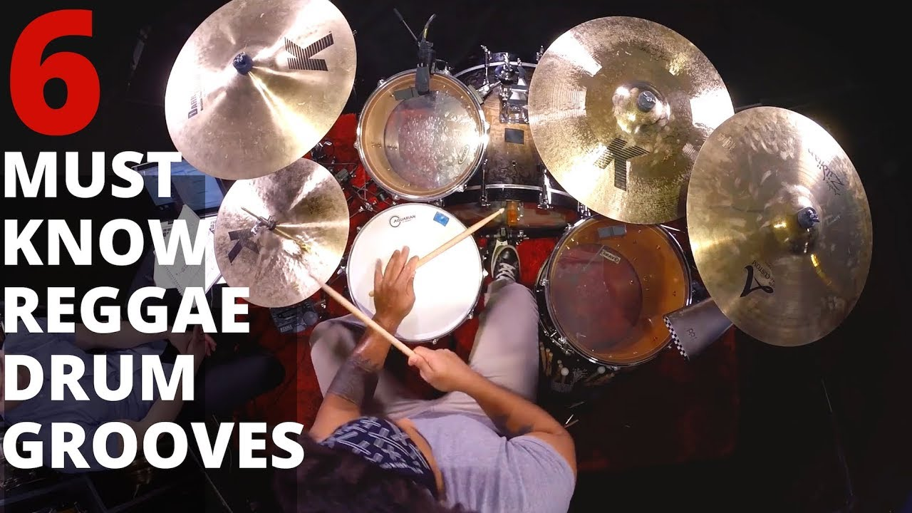 Download 6 Must Know Reggae Drum Grooves | Learn Drum Beats | Lesson by Ben Satterlee Drum Teacher