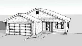 1139 Square Foot House Plan
