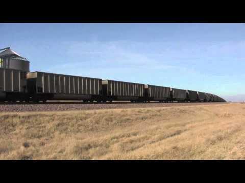 UP 6793 Leads Empty Cilco Coal Train 1/07/12 Edelstein, IL