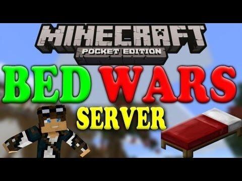 0120 BETA SERVERS!!  SKYWARS MINIGAME!  Minecraft PE 0