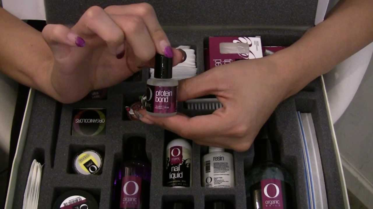 Organic Nails Acrylic startkit - YouTube